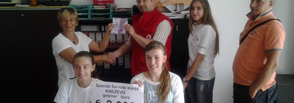 Bosnien Spende Getzner Werkstoffe