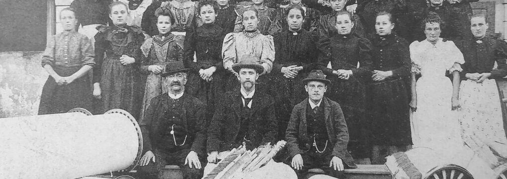 Weberei Lünersee 1898