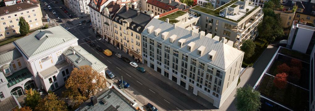 Gebäudelagerung Troger Höfe