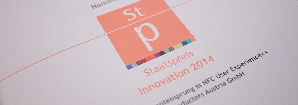 Staatspreis Innovation 2014