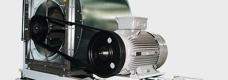 Robatherm-Ventilator riemengetrieben