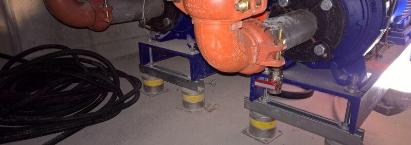 Pumpenlagerung Isotop DZE