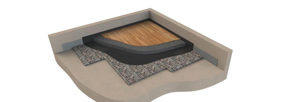 3D Fußbodenaufbau AFM 23 26