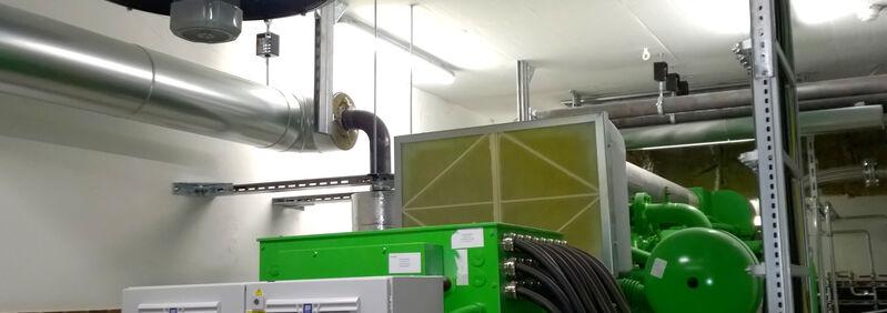 Entkopplung BHKW Jenbacher und Rohrleitungen