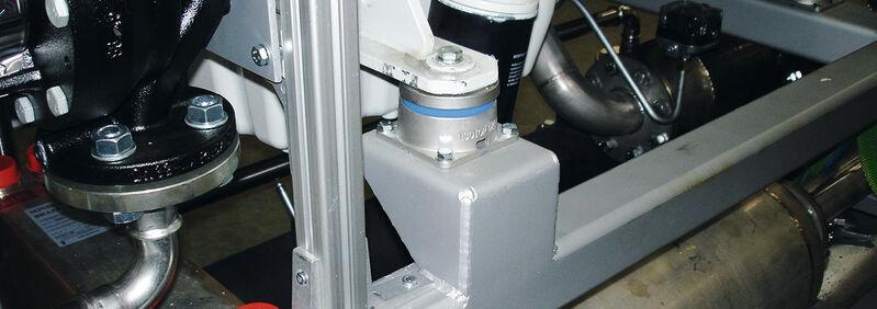 Lagerung BHKW Isotop DZE