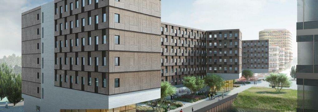 UDQ Studentenwohnheim Hamburg Woodie