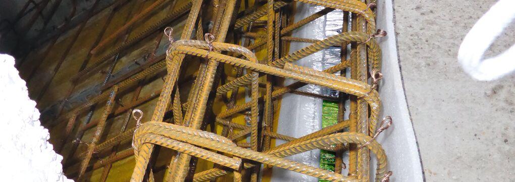 Ortbeton-Treppenlager-Getzner