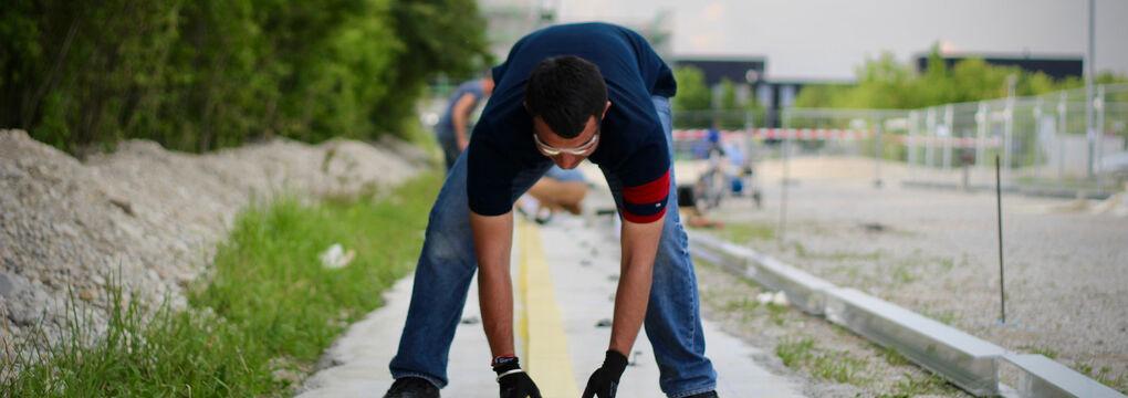 Schwingungsschutz im Fahrweg