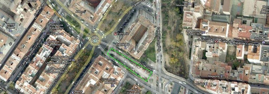 Google Estacion de Goya