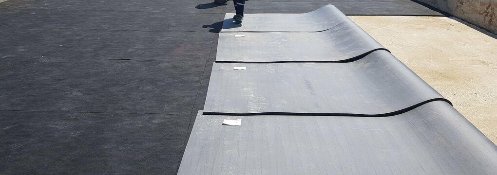 Installing under ballast mats