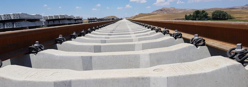 Construction Site Ankara Sivas Turkey High Speed Line