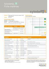 Data Sheet Sylodamp SP 100 FR