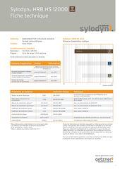 Data Sheet Sylodyn HRB HS 12000 FR
