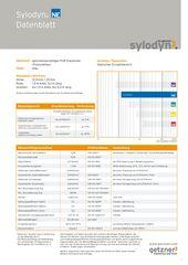 Data Sheet Sylodyn NE DE