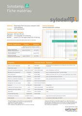 Data Sheet Sylodamp SP 300 FR