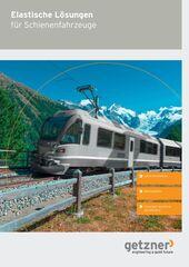Brochure Elastic Solutions for Rolling Stock DE