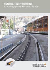 Brochure Sylomer Rail Groove Filler DE