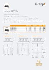 Datenblatt Isotop MSN BL DE