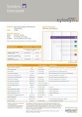 Data Sheet Sylodyn NF DE