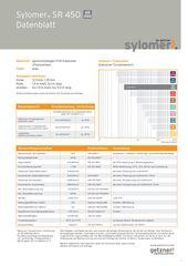 Data Sheet Sylomer SR 450 DE