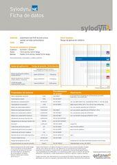 Data Sheet Sylodyn NE ES