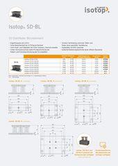 Datenblatt Isotop SD-BL DE
