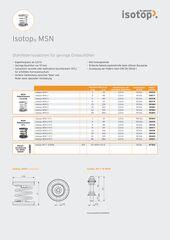 Datenblatt Isotop MSN DE