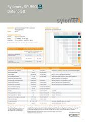 Data Sheet Sylomer SR 850 DE