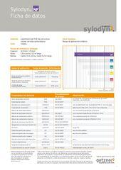 Data Sheet Sylodyn NF ES