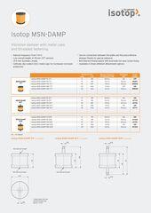 Data Sheet Isotop MSN-DAMP EN