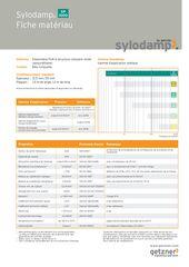 Data Sheet Sylodamp SP 1000 FR