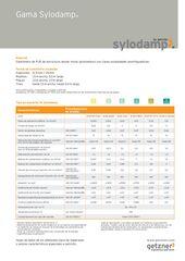 Data Sheet Overview Sylodamp ES EN