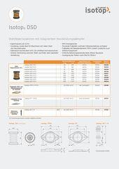 Datenblatt Isotop DSD Stahlfeder DE