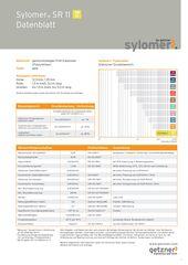 Data Sheet Sylomer SR 11 DE