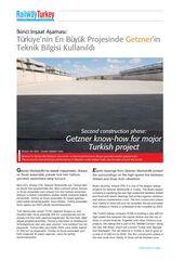 Expert Article Railway Turkey Second construction phase in Turkey TR EN