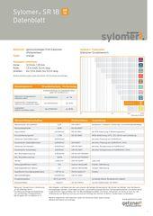 Data Sheet Sylomer SR 18 DE