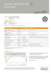 Data Sheet Sylomer Marine FR 455 EN
