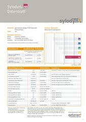 Data Sheet Sylodyn NB DE