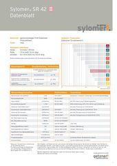 Data Sheet Sylomer SR 42 DE