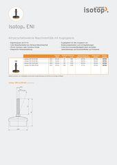 Datenblatt Isotop ENI DE
