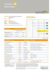Data Sheet Sylodyn NC DE