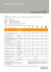 Data Sheet Overview Sylodamp FR EN