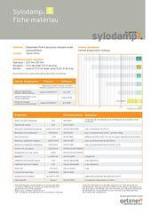 Data Sheet Sylodamp SP 10 FR