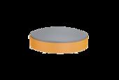 Couche intermédiaire élastique pour outils de polissage