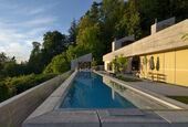 Bearing of Swimming Pools at the Villa Aurea, Lochau