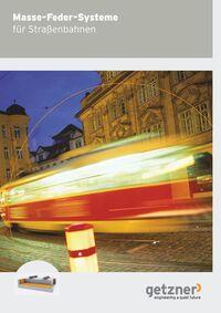 Masse-Feder-System für Straßenbahnen