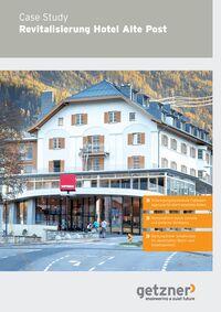 Case Study Revitalisierung Hotel Alte Post