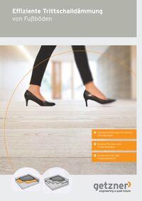 Effiziente Trittschalldämmung von Fußböden