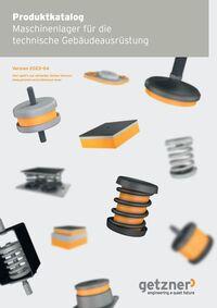 Product Catalogue Machine Bearings for Building Services Equipment (HVAC) DE