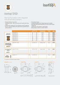 Data Sheet Isotop DSD EN